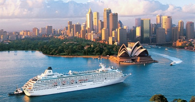 Destinácie výletných lodí