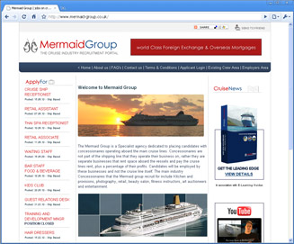 The Mermaid Group website