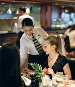 Waitress - Norwegian Cruise Line