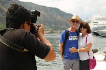 Photographer on cruise ships