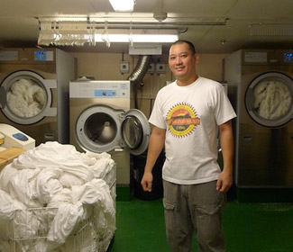 A day in the life of a Laundry Man