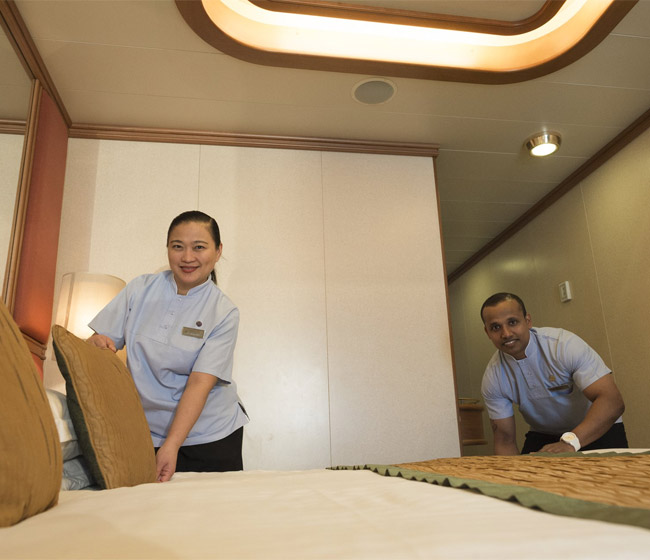 A day in the life of a Stewardess