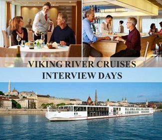 P&O Cruises, Cunard, Viking Cruises and MSC Cruises interviews in Slovakia
