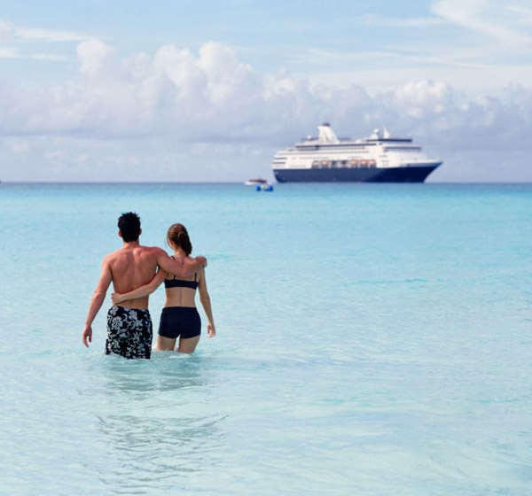 Couples working together on a cruise ship