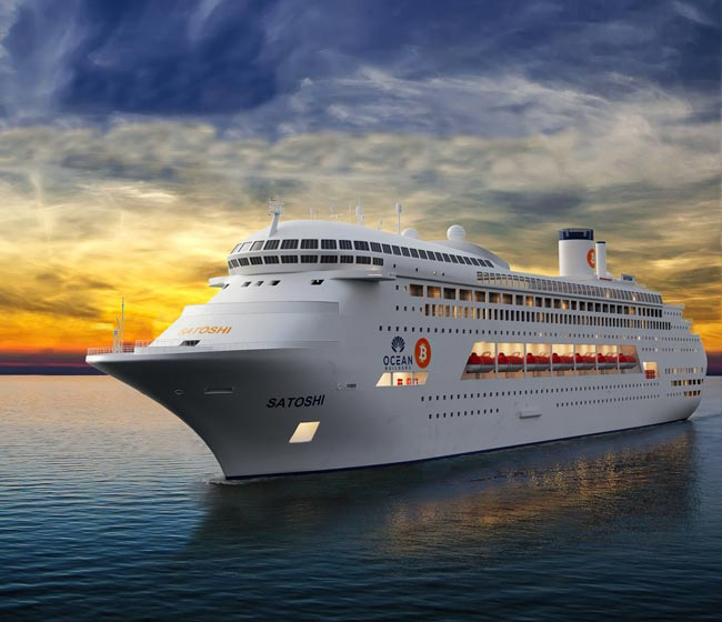 The Crypto Cruise Ship - First Cabins Open For Auction