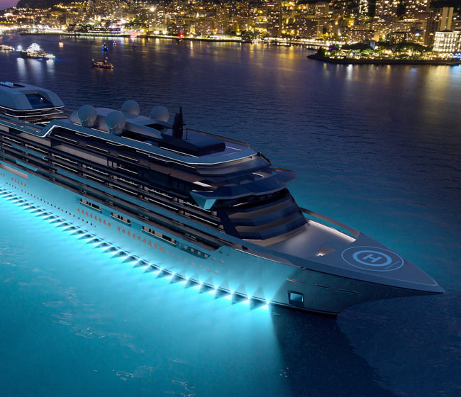 Expansion of Residency Cruise Ship Concept
