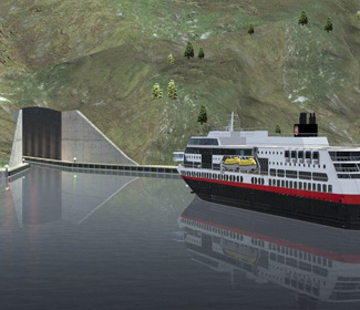 Norway to build world's first tunnel for ships