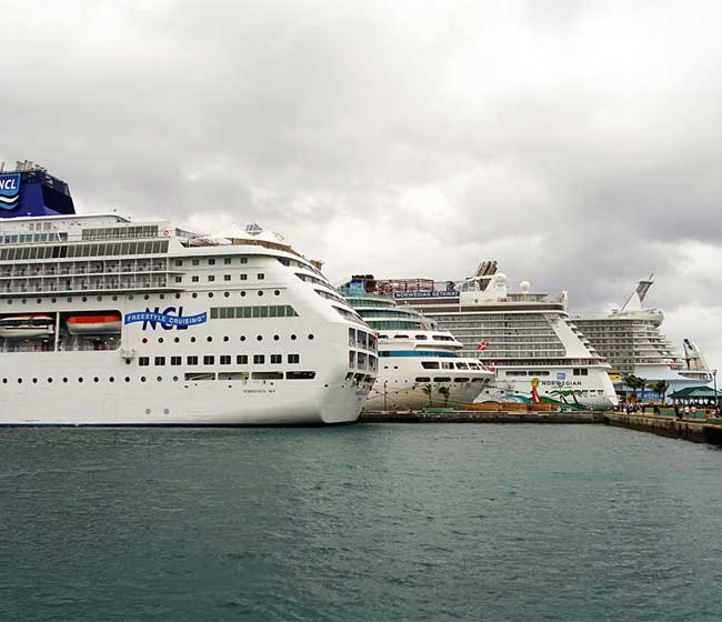 How much cash do cruise lines burn during the pandemic?