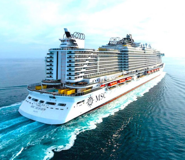 MSC Cruises Launches its 15th Ship - MSC Seaview