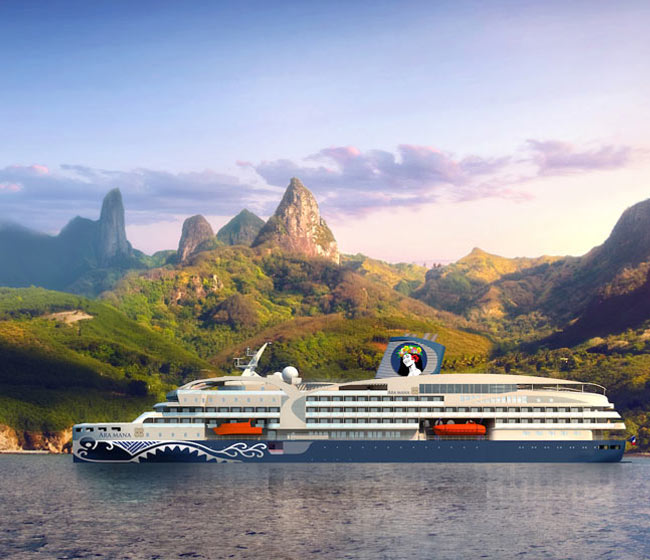 New Ship for Aranui Cruises