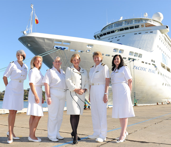 Opportunities for Women in the Cruise Industry