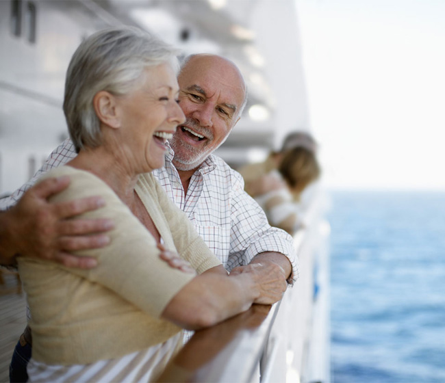 A New Experience at Sea - Retirement Cruising