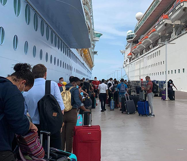 Royal Caribbean Has Repatriated 38,000 Crew