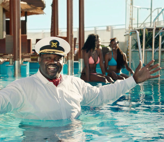 Shaquille O'Neal - Carnival Cruise Line's new CFT