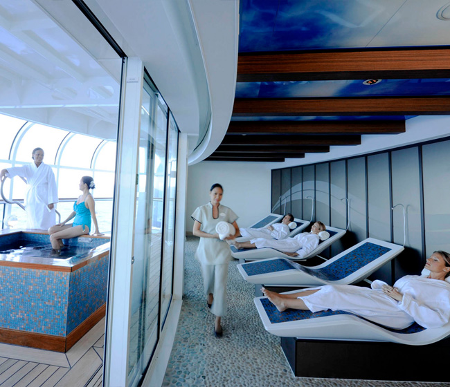 Spa and Beauty Positions on Board Luxury Cruise Ships