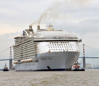 The World's Largest Cruise Ship Has Set Sail